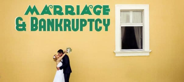 bankruptcy before or after marriage
