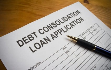 debt consolidation and credit score